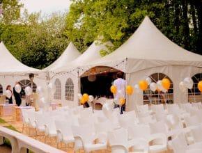 stoelen bruiloft